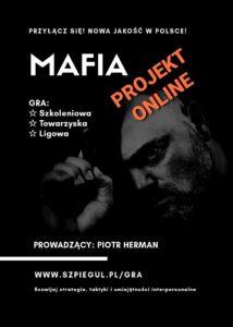 Gra Mafia ulotka