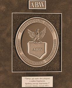 ABW - pamiątka