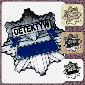 ...bo detektyw legitymować też się musi...