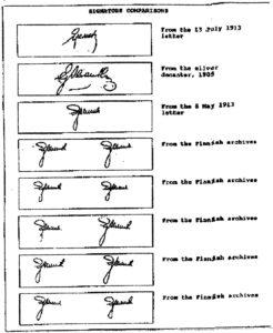 Podpisy Eremina