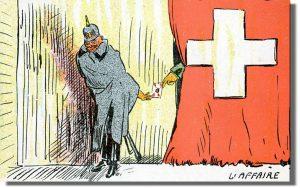 szpiegostwo niemieckie Wielka Wojna Szpiegul OSS CSI
