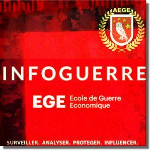 OSS 034. Francuski Wywiad Ekonomiczny - logo CSI Szpiegul